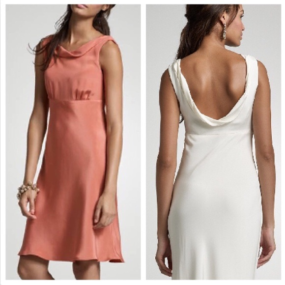 J. Crew Dresses & Skirts - J. Crew *PURPLE* Silk Tricotine Hope Dress NWT sz4
